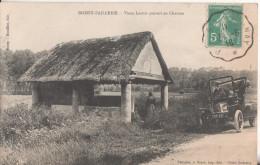 95 Boissy-l´aillerie  Vieux Lavoir Couvert En Chaume - Boissy-l'Aillerie