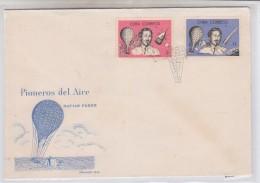 Cuba AVIATION PIONEERS BALLOON FDC 1965 - FDC