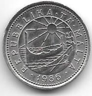 *malta 2 Cents 1986  Km 79  Unc - Malte