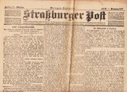 Straßburger Post - 1918 - Nummer 560 - Revues & Journaux