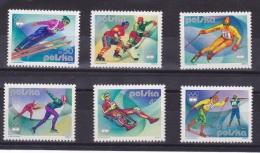 POLONIA 1976 - OLYMPICS INNSBRUCK 76 - YVERT Nº 2256-2261 - Invierno 1976: Innsbruck