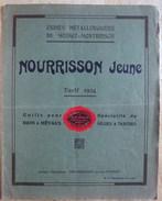 Tarif 1924 Des Ets NOURRISSON JEUNE à Montbrison (outils Pour Bois Et Métaux, Spécialité De Mèches Et Tarières)) - 1900 – 1949