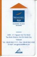 HOTEL NOVOTEL ACCOR GARDEN PLAZA SAIGON - VIETNAM - Hotel Labels