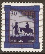 Ireland 2000 SG 1376 Christmas Self Adhesive Fine Used - 1949-... Repubblica D'Irlanda