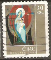 Ireland 2001 SG 1465 Christmas Self Adhesive Fine Used - Usati