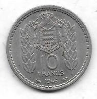 10 Francs Principauté De Monaco 1946 - Monaco