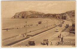 Llandudno: STANDARD 8 H.P. SALOON '46, FORD PREFECT - The Promenade And Little Orme - (Wales) - Postkaarten
