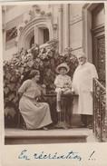 Allier VICHY Carte-photo Villa Kate-Théo Famille Zamkoff Animation En Gros Plan 1924 - Vichy