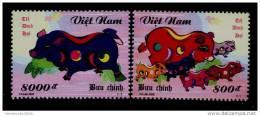 Vietnam Viet Nam MNH Perf Withdrawn Stamps 2006 : Year Of Pig (Ms956) - Viêt-Nam