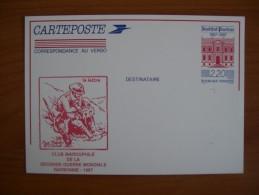 Carte Entier Pasteur N°2496 - Documents Of Postal Services