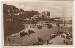 Llandudno: BRASS ERA OLDTIMER CARS, HORSE, COACH, CART - Prince Edward Square - (Wales) - Postkaarten
