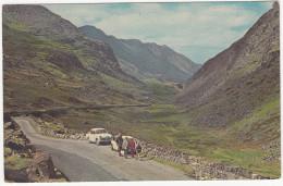 Llanberis Pass: HILLMAN MINX SALOON, AUSTIN/MORRIS  ADO 16 -  Caernavon - (Wales) - Postkaarten