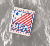 Pin's - Telecom USA 95 - Pavilion - USA - Pin