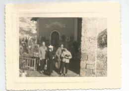 Photographie église De Fontcouverte Vers St Jean De Maurienne Savoie -73 - Photo 8x10,7 Cm, Mars 1955 - Places