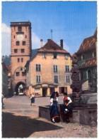 68 RIBEAUVILLE - 754 - Edts Ektacap - Tour Des Bouchers & Fontaine Renaissance (1) (recto-verso) - Ribeauvillé