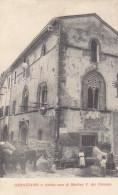 Genazzano -casa Martino V.dei Colonna-viagg.1918-animata -bella - Italie