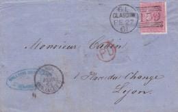 Grande Bretagne - Lettre - 1840-1901 (Regina Victoria)