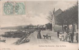 78 Conflans Sainte Honorine  Quai De Seine - Conflans Saint Honorine