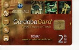 Tarjeta Turistica CORDOBA CARD  ,  SPAIN TOURISM - Sonstige