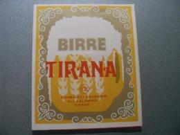 ALBANIA Beer Label / Bieretiket / Bière étiquette - Bier