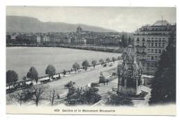 GENEVE ET LE MONUMENT BRUNSWICK - Suisse - GE Genève