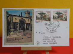 FDC Italia - VILLA CIMBRONE - RAVELLO - 17.10.1981 - 1er Jour Italie - 1946-.. République