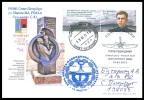 RUSSIA 2015 POSTCARD Used  FDC MARINESKO SUBMARINE C-13 SOUS-MARIN U BOOT KRONSHTADT MONUMENT SCULPTURE WW2 Mailed