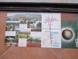 Brochure Turistica FIUGGI Lazio Formato Cm 22 X Cm 48 Con Foto - Europa