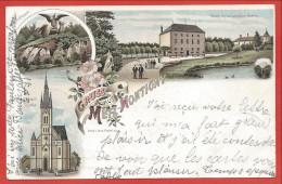 57 - GRUSS Aus METZ - MONTIGNY - Litho Couleur - Botanischen Garten - Jardin Botanique - Metz Campagne