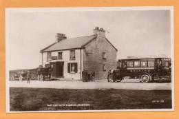 Buxton UK Cat And Fiddle Bus 1920 Postcard - Derbyshire