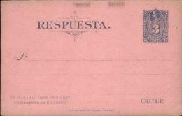 CHILI - Entier Postal Non Voyagé- A Voir - L 2660 - Chili