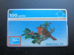 L&Gyr Optical Phonecard, Christmas 1993,mint