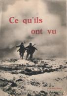 CE QU ILS ONT VU GUERRE 1914 1918 TRANCHEES ARMEE ALLEMANDE SOLDAT KAISER FRONT PHOTO REPORTAGE ALBUM - 1914-18