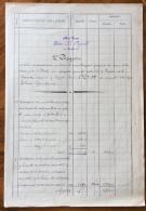 FORLI'  1925 GEOM.PAGANELLI  PROGETTO ORIGINALE CON ALLEGATA PLANIMETRIA FATTA E COLORATA A MANO - Cartes Topographiques