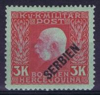 Austria Feldpost  Mi 19  MH/* Falz/ Charniere Occupation Of Serbia In WWI Serbien - Ungebraucht