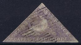 Cape Of Good Hope: 1855 -1863  4d Blue  Cancelled Mi 3 I Y - Südafrika (...-1961)