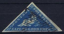 Cape Of Good Hope: 1855 -1863 6 D  Rose-lilac  Cancelled Mi 2 Thin Spot Around Pence - Südafrika (...-1961)