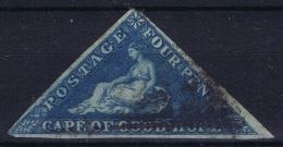 Cape Of Good Hope: 1855 -1863  4 D Blue  Cancelled Mi 2 - Südafrika (...-1961)
