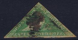 Cape Of Good Hope: 1855 -1863  One Shilling  Cancelled Mi 4 Iya - Südafrika (...-1961)