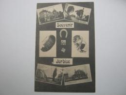 JURBISE  ,Carte  Postale, 1914/18  , 2 Scans - Jurbise
