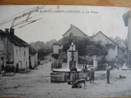 CPA SAINT MARCEL DE BEL ACCUEIL 1915 - Autres Communes