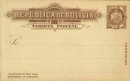 BOLIVIE - Entier Postal Non Voyagé- A Voir - L 2670 - Bolivie