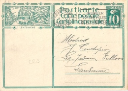 "PK 115  ""Lenzerheide""  (Postauto)        1928 - Interi Postali"