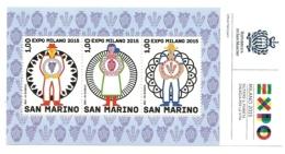 2015 - San Marino BF 135 EXPO - 2015 – Milano (Italia)