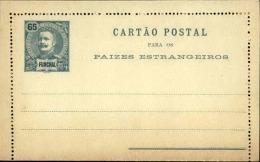 PORTUGAL / FUNCHAL - Entier Postal Non Voyagé - A Voir - L 2680 - Funchal