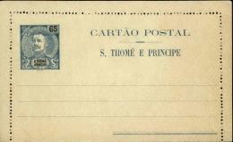 PORTUGAL / ST THOMAS ET PRINCE - Entier Postal Non Voyagé - A Voir - L 2681 - St. Thomas & Prince