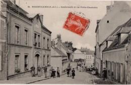 Nogent Le Roi  Gendarmerie Et Rue Porte Chartraine - Nogent Le Roi