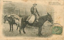 Dép 15 - Animaux - Mulets - Mules - En Auvergne - Le Meunier En Campagnes - état - Autres Communes