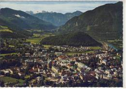 BAD ISCHL - Flugaufnahme, Luftbild Vom Zentrum Mit Dachstein - Bad Ischl