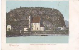 Trento Chiesa Di Piedicastello Con Dos Di Trento - Trento